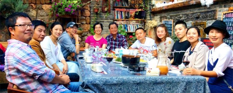 【中國|麗江】束河古鎮馬幫首領百年老宅:壹餐廳