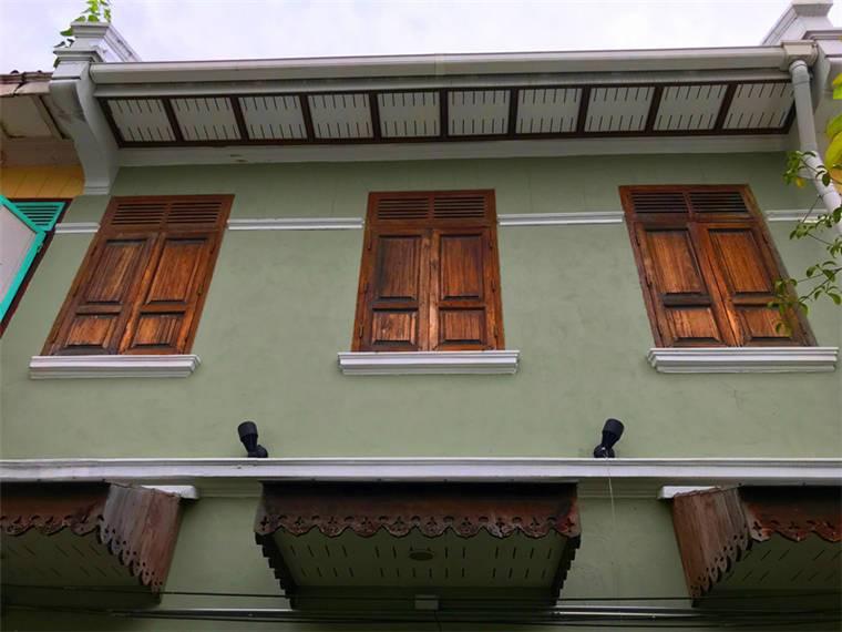 歐風的小洋房,這棟樓有百年的歷史