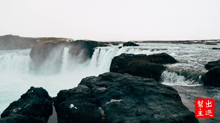 Godafoss Waterfall 眾神瀑布