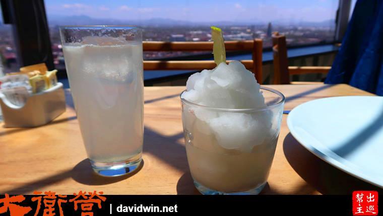 墨西哥拉丁美洲塔上最高餐廳:Miralto Restaurante冰沙