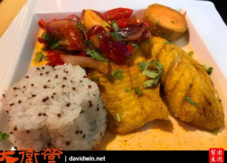 祕式醬汁魚排藜麥飯