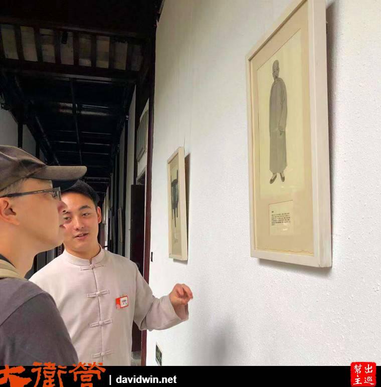 蘇州文旅花間堂探花府工作人員向你解說宅邸的故事