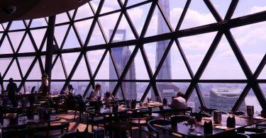 東方明珠塔旋轉餐廳