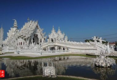 白廟 Wat Rong Kuun