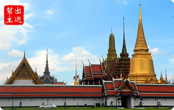 曼谷許多知名的景點周圍,特別是大皇宮周邊