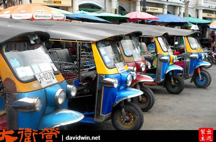 來到曼谷都想體驗嘟嘟車,可說真的,這是全曼谷最貴的交通工具