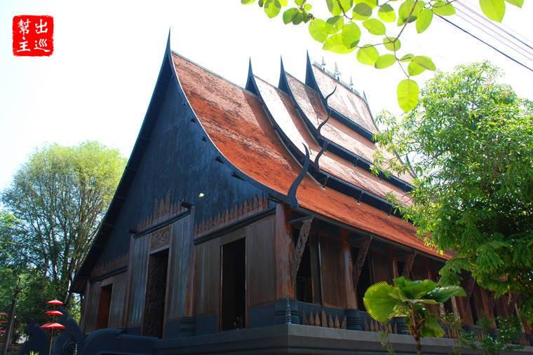 黑廟 Black House (Baandam Museum)
