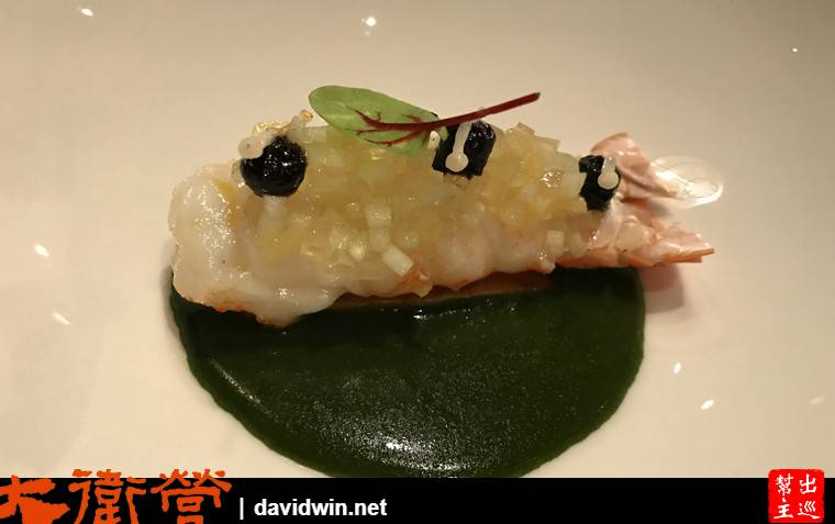 曼谷法式料理:米其林一星Elements NORWEGIAN LANGOUSTINE