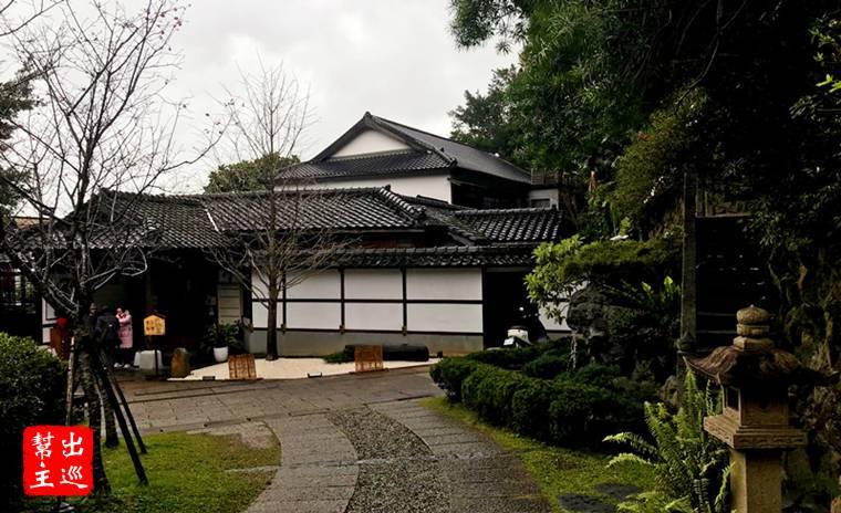 北投文物館,同樣是日式建築,內有展出與日式美食