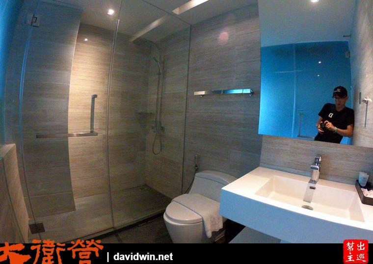 曼谷絕佳位置小巧精品酒店:Sib Kao衛浴空間