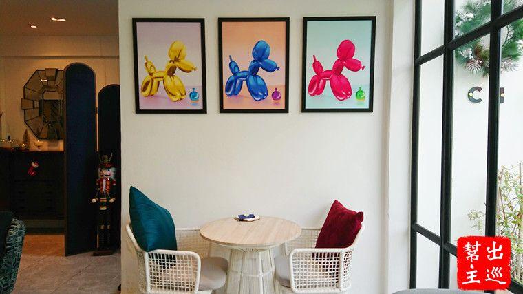 曼谷米其林甜品:ICI室內裝潢