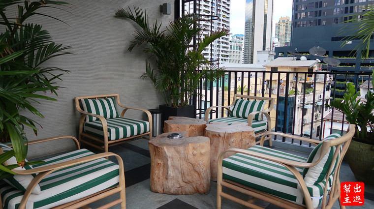 曼谷絕佳位置小巧精品酒店:Sib Kao空中花園