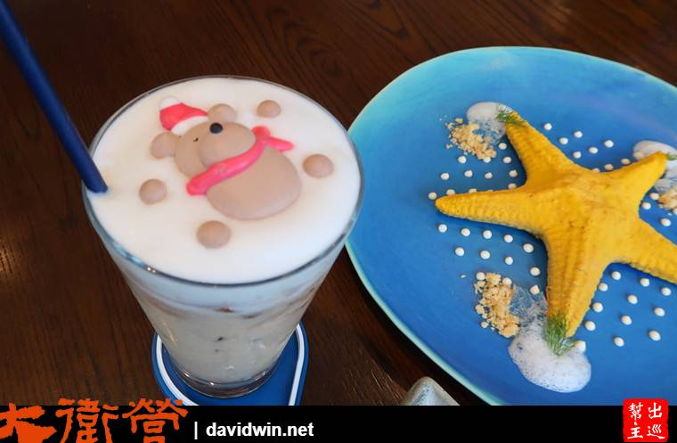 曼谷米其林甜品:ICI 可愛熊熊是棉花糖