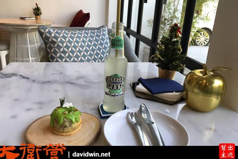 曼谷米其林甜品:ICI蛋糕甜品與水果SODA