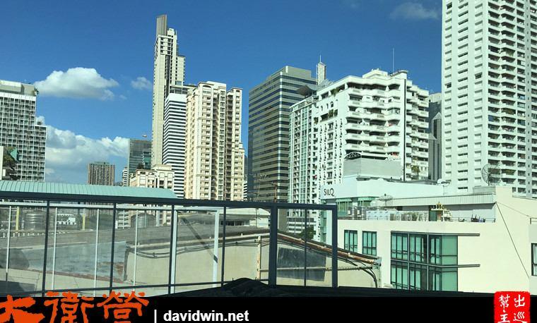 曼谷絕佳位置小巧精品酒店:Sib Kao窗外景觀