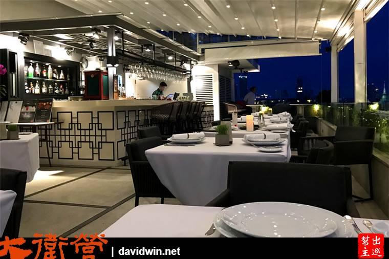 河景第一排景觀餐廳:Above Riva