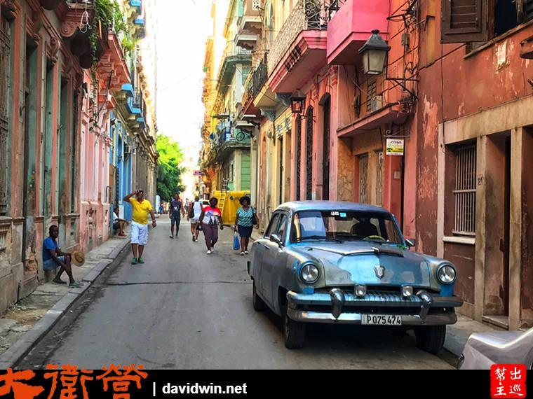 古巴哈瓦那舊城區漫步