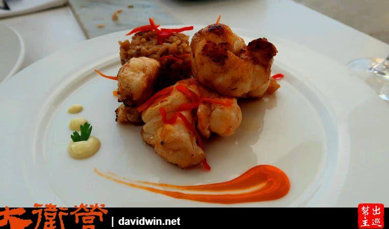 古巴哈瓦那吃龍蝦大餐