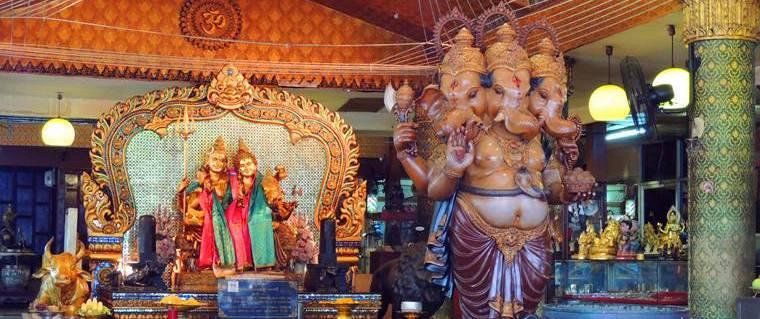 【曼谷|廟宇】超級靈驗的『路口象神』