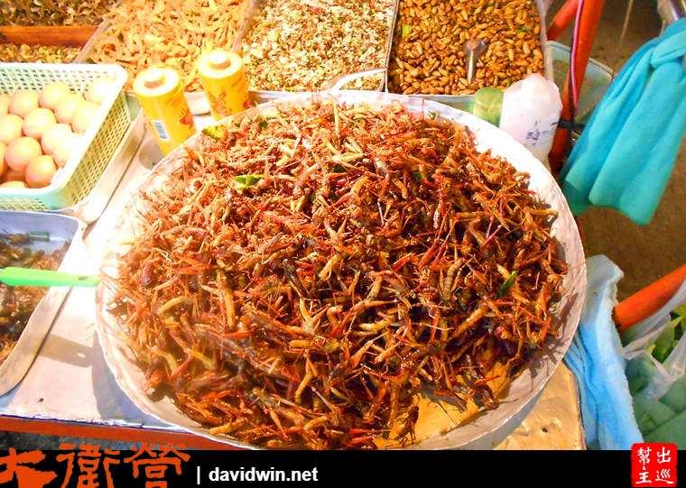 泰國炸昆蟲