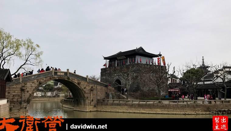 蘇州寒山寺江楓古橋