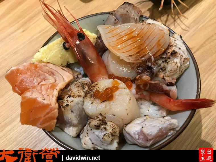 永和頂溪千幸壽司炙燒丼飯