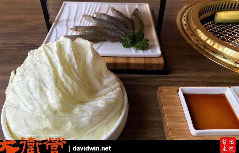 茶六燒肉堂菜盤