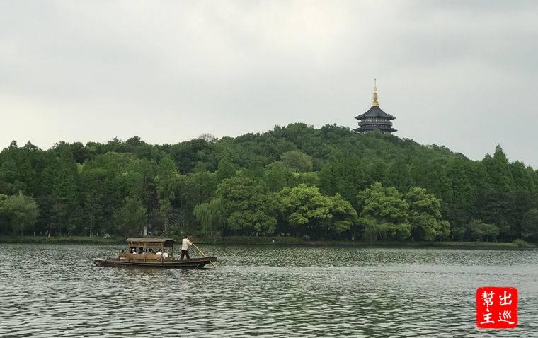 杭州西湖,白娘子被法海壓在了雷峰塔下