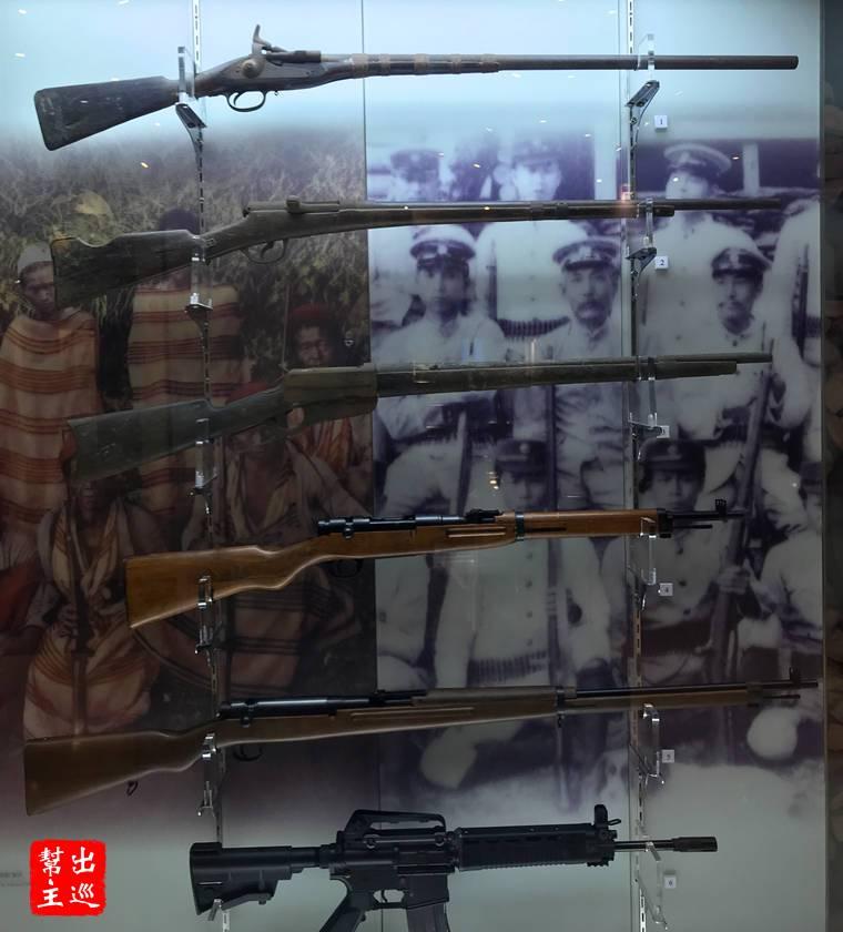 原民與日警使用的槍枝