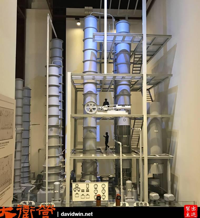 分餾塔系統模型