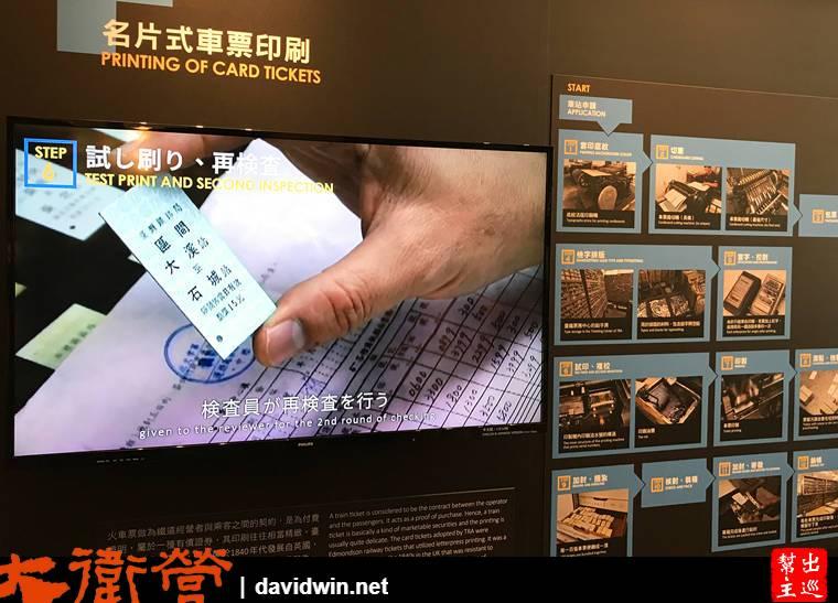 臺灣博物館鐵道部園區車票介紹