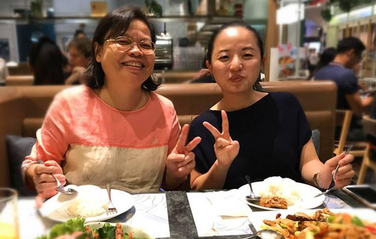 旅居泰國超過20年的廖媽媽與女兒Claire經營的『樂活民宿』