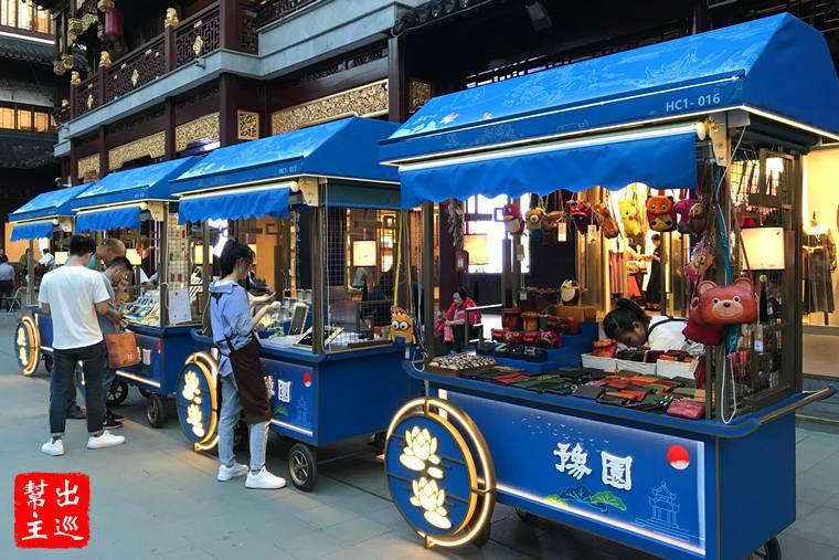 全上海最中國的地方:豫園商圈拉洋片