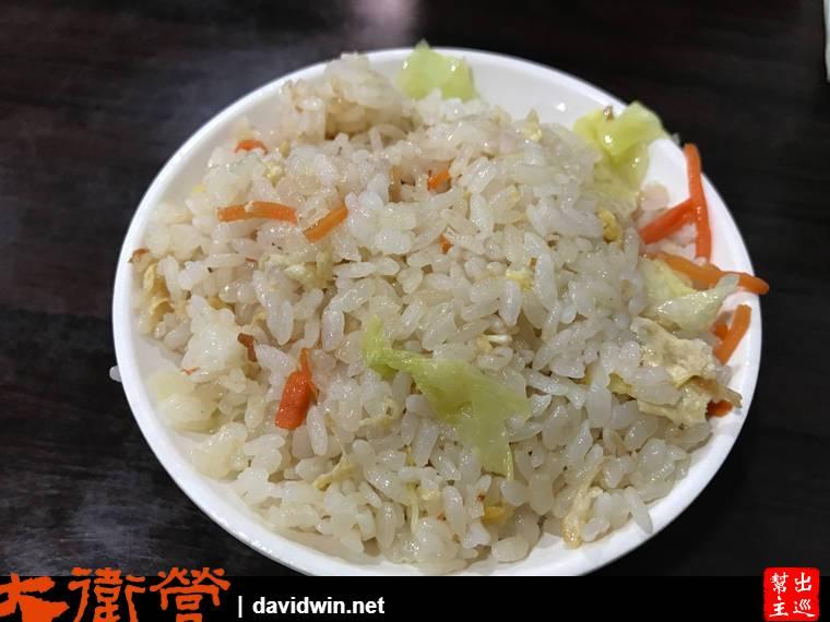 萬華龍山寺站原汁排骨湯高麗菜炒飯