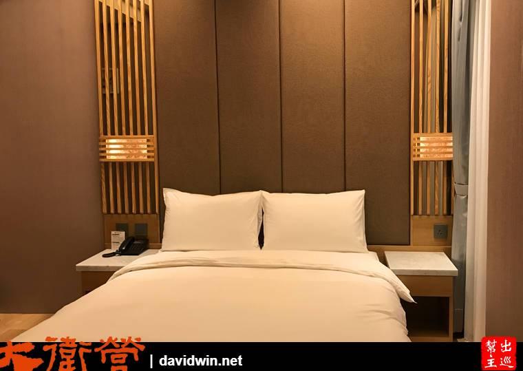 葛瑪蘭風呂會館房間與床