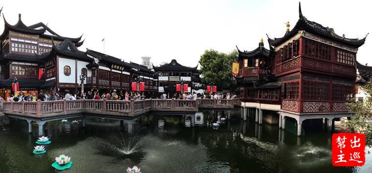 全上海最中國的地方:豫園商圈九曲橋