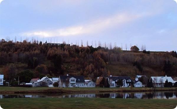 冰島阿克雷里風景