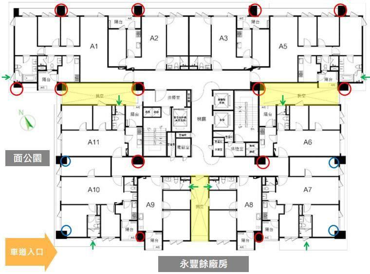 土城大同莊園2樓層規劃