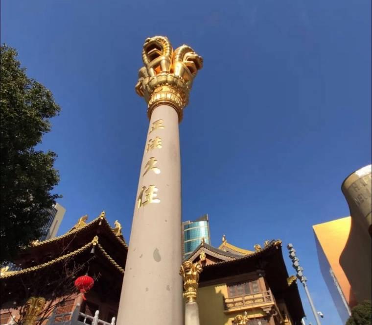 【上海 景點】金碧輝煌佇立市中心的千年古剎:靜安寺