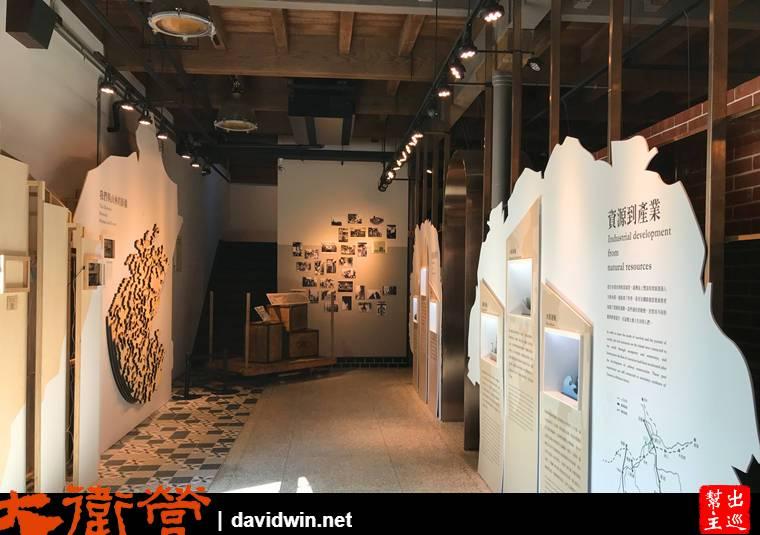 舊三井物產株式會社北門倉庫一樓常設展