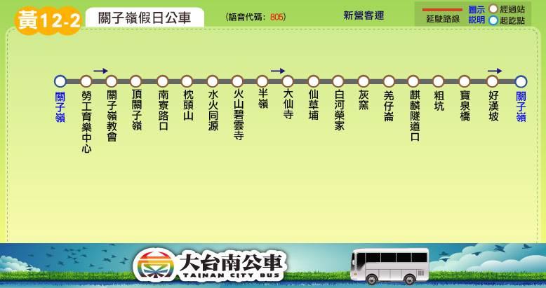關子嶺假日公車