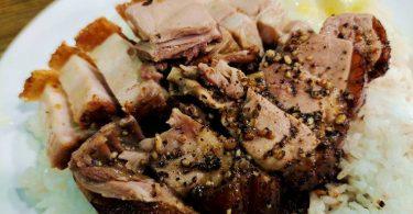 黑椒鴨、火肉雙拼