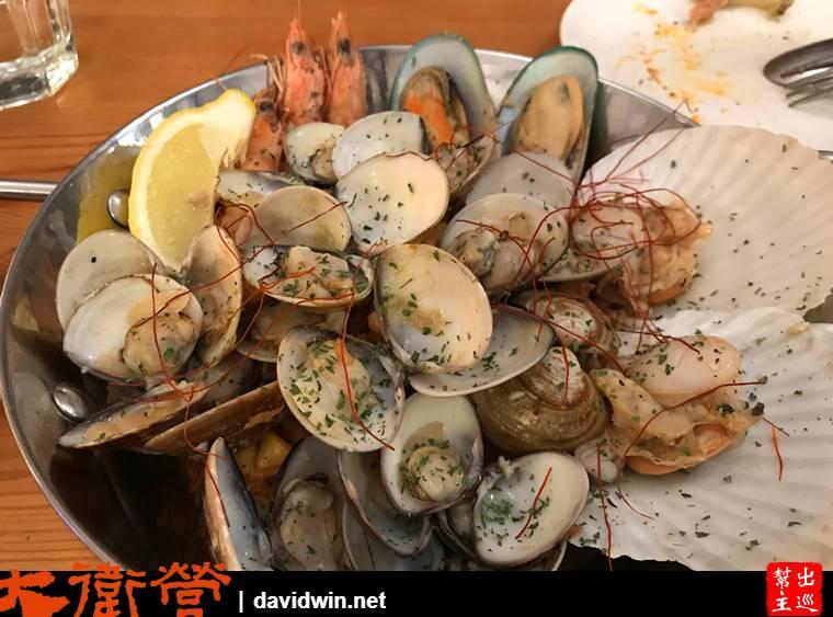 希臘媽媽綜合海鮮盤