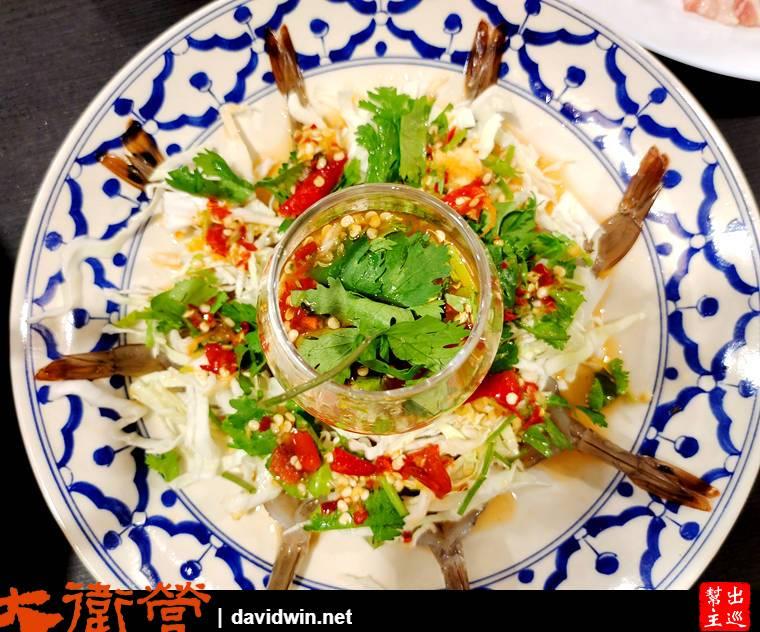 魚露拌生蝦