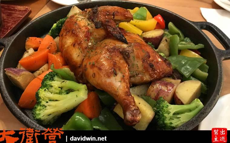 沃野秘製豆瓣烤雞
