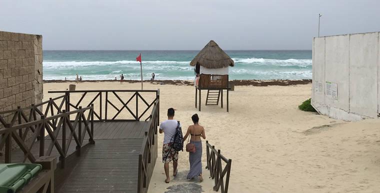 墨西哥坎昆海岸