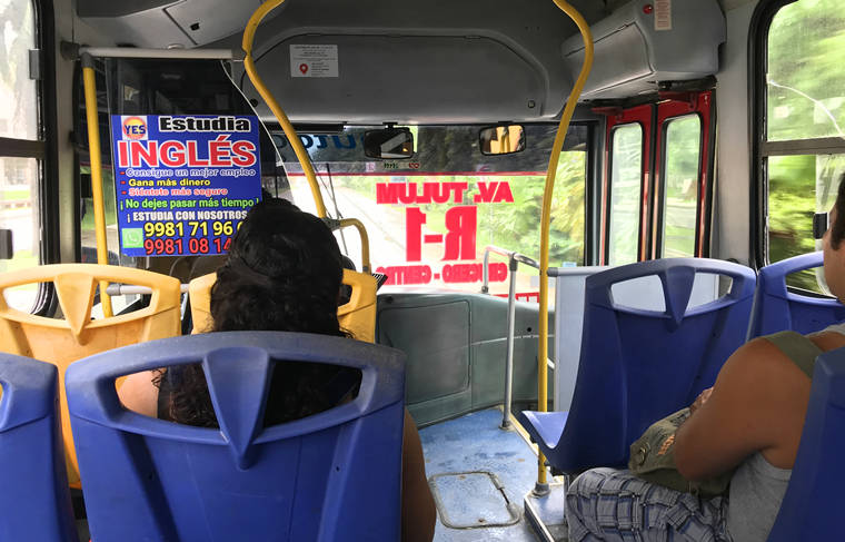 墨西哥坎昆循環巴士