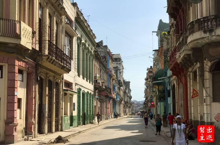 古巴哈瓦那街景