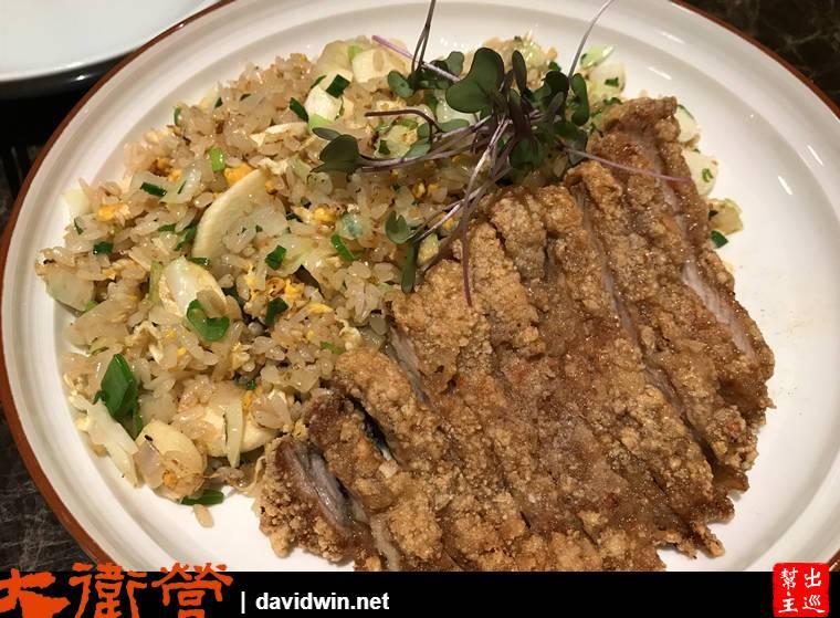 厚炸排骨菜香炒飯