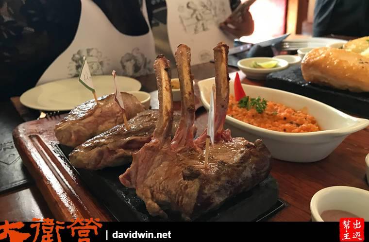 高原羊排 Altiplano rack of lamb